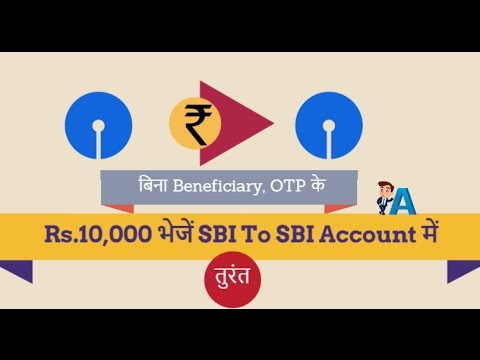 SBI To SBI Money Send Without Adding Beneficiary and OTP