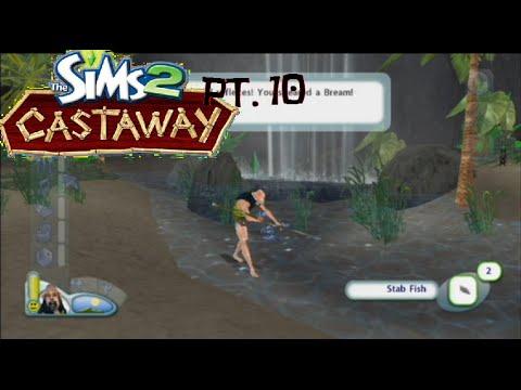 MONKEYFISHHHHHHHHH [The Sims 2 Castaway Part 10]