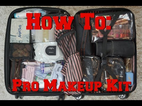 How to: Pack a Pro Makeup Artist Kit | Diana Lomelin