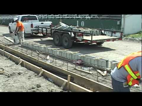 Trench Drain Installation for the Professional: EZ Track by NDS