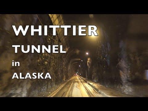 Whittier Tunnel in Alaska