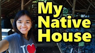 My Native House in Mindanao Philippines Filipina Lifestyle