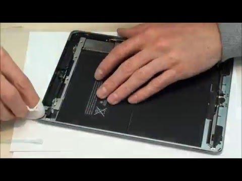 Apple iPad Air A1474 Glas wechseln Reparatur Austausch Display Tausch disassembly