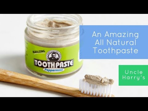 The Best All Natural and Vegan Approved Toothpaste w/ No Chemicals - Product Review