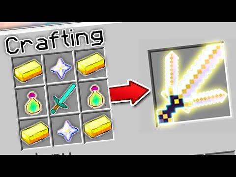 CRAFTING THE STRONGEST SWORD IN MINECRAFT?!   Minecraft Mods