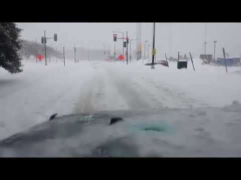 Drive Through the DC Snowstorm of 2016 part2