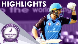 Visitors Set Record In 700+ Game! | Derbyshire v Worcestershire | Royal London One-Day Cup 2019