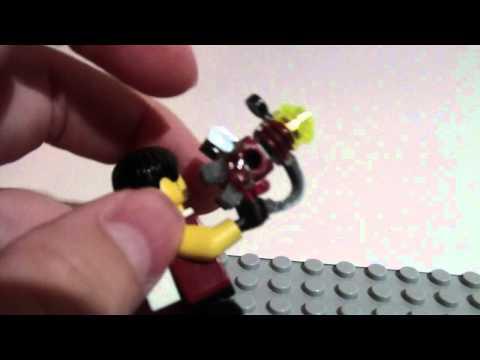 Custom LEGO ray gun from COD zombies