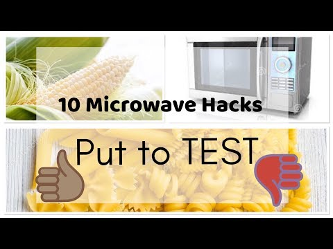 Top 10 Microwave Hacks put to TEST 🤔..... 👍?? Or 👎??