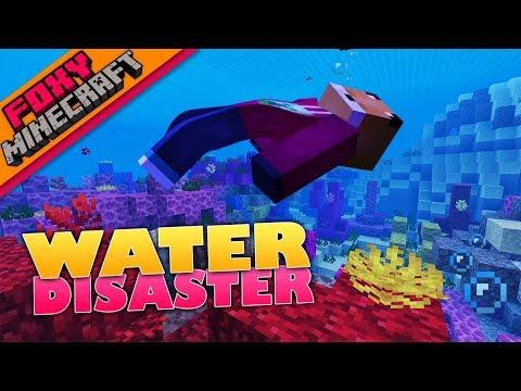 Minecraft   AQUATIC DISASTER   Foxy's Bedrock Survival [52]