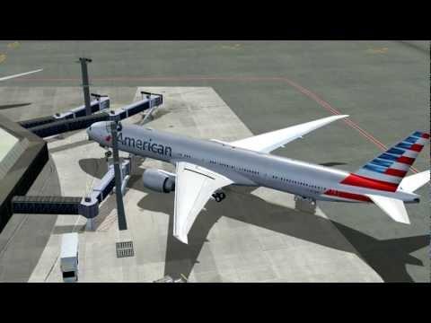 American Airlines AA963 777-300ER N718AN Dallas-Fort Worth (DFW) - São Paulo (GRU)