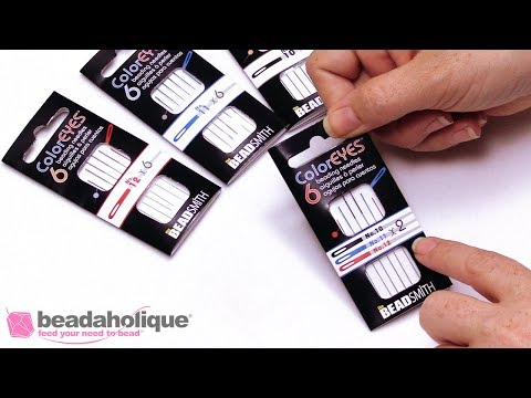 Show & Tell: ColorEYES Beading Needles