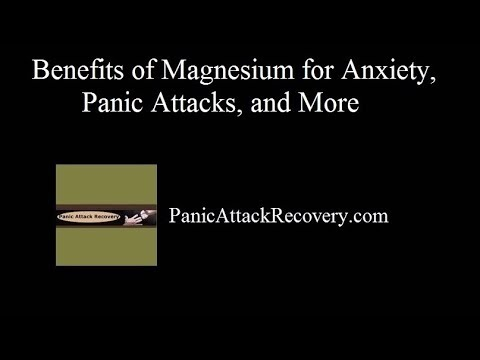 Best Magnesium Supplement for Anxiety, ADHD, and Panic Attacks?