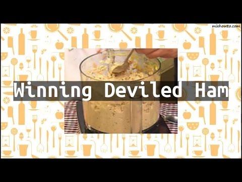 Recipe Winning Deviled Ham