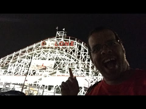 Night Ride on the infamous ConeyIsland Cyclone!!