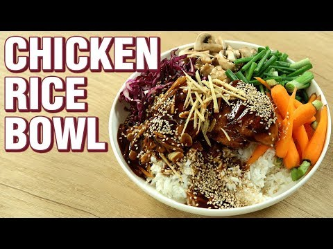 Chicken Rice Bowl Recipe | Chicken Recipe | Indo Chinese Recipe | Rice Bowl Recipe | Varun Inamdar