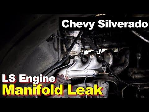 GM 4.8L 5.3L 6.0L LS Engine Exhaust Manifold Leak From Broken Cylinder Head Stud Bolt