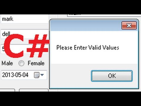 C# Tutorial 57: TextBox which accepts only numbers in C#
