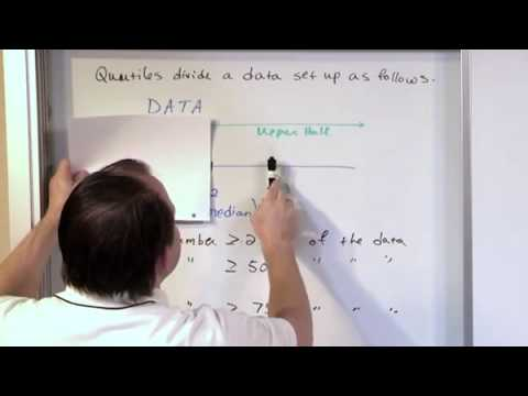 Section 23  Quartiles of Data
