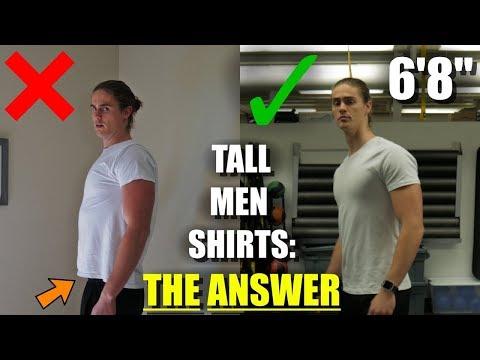 URGENT: Tall Men NEED These Shirts!