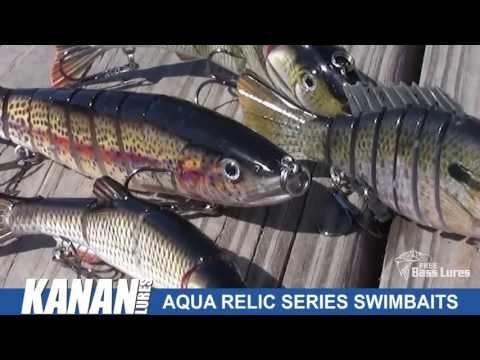 Free Bass Lures (Kanan Aqua Relic Swimbaits)