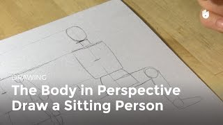 The Body In Perspective How To Draw A Sitting Person