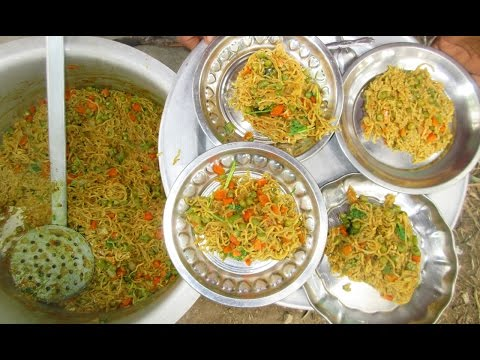 Cooking Vegetable NOODLES  Recipe in My Village | VILLAGE FOOD