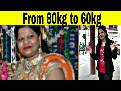 My 20kg weight loss story / journey | वजन कैसे घटाए in hindi | lose weight naturally |by Nikki