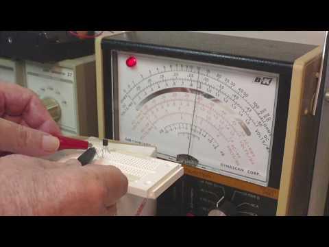 Transistor Testing, the Basics