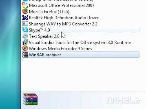 How to uninstall a program in Windows 7