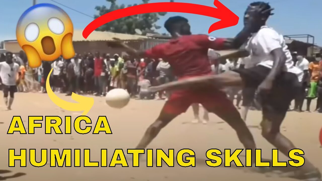 Insane skills of african football players