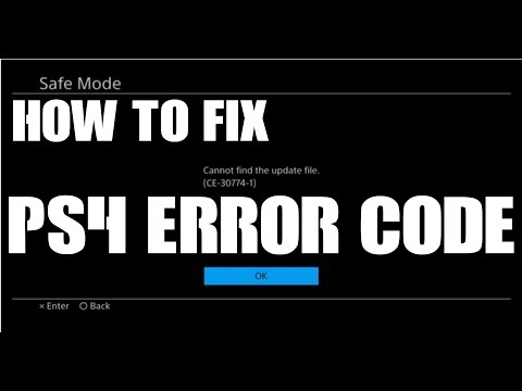 How to fix PS4 Software Update Error c3-30774-1 Fix Initialize and reinstall system software