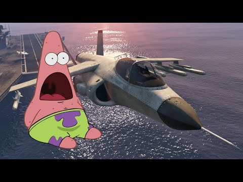 What If Patrick Star Was a Pilot?