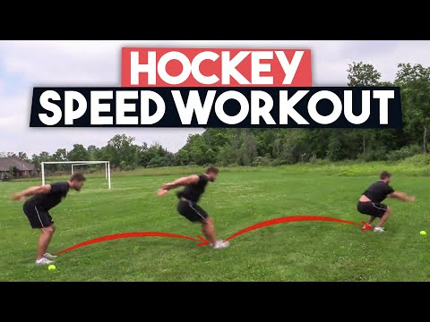 Hockey Speed Workout - Skate Faster 🏒