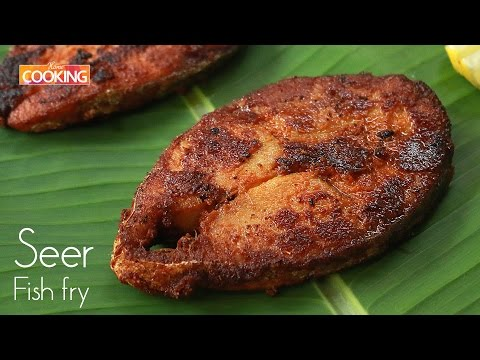 Seer Fish Fry l How To Make Seer Fish Fry Recipe l Meen Varuval