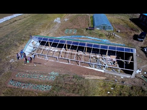 Passive solar greenhouses in Mongolia to defy cold winters (long version)