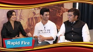 Salman Khan Ka Swag & Innovative Cuss Words By Sushant Singh Rajput | Rapid Fire | Bhumi | Ashutosh