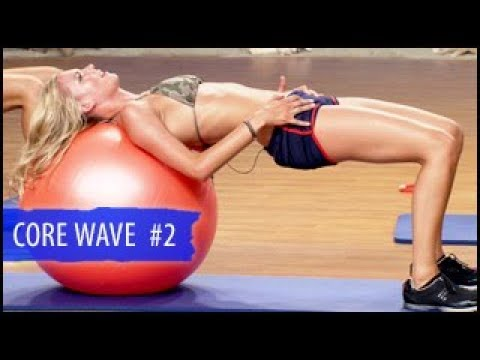 Swimsuit-Ready Core Workout 2: Stability Ball- Surfer Girl
