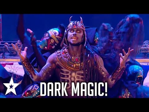 Magus Utopia Brings Our Fears To Life! | Britain's Got Talent | Got Talent Global