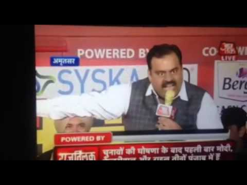 Tarun chug vs aaj tak reporter full vedio must watch bjp vs congress