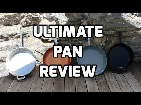 Cast Iron Pan vs Green Pan vs Red Copper Pan vs Stainless Steel Pan