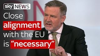 "Barry Gardiner: Close alignment with the EU is ""necessary"""