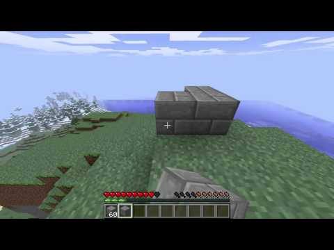 Minecraft- How To Make Stone Bricks (Stone Brick Tutorial)
