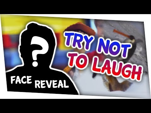 MY FACE REVEAL! | Try Not To Laugh Challenge made by Wess