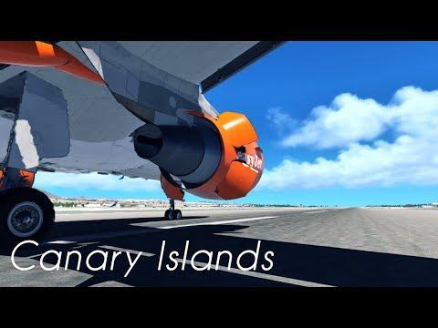 X-Plane 11 Film | Canary Islands