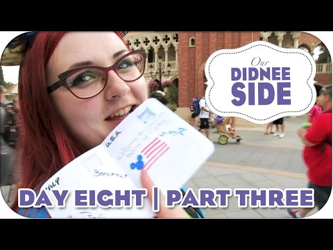 FILLING OUR EPCOT PASSPORTS | Walt Disney World | Day 8 - Part 3 | Our Didnee Side
