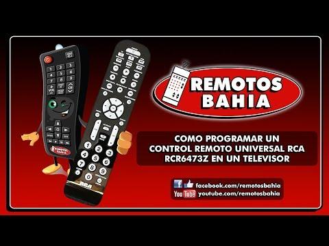CÓMO PROGRAMAR UN CONTROL REMOTO UNIVERSAL RCA RCR6473Z