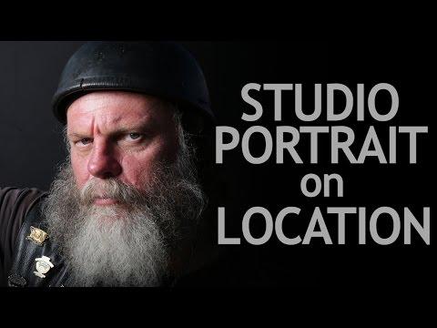 Studio Portrait On Location