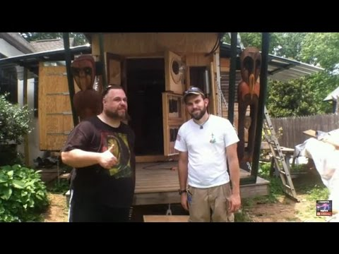 U-Haul Tiny house with slide outs plus off grid solar install by OFF GRID CONTRACTING