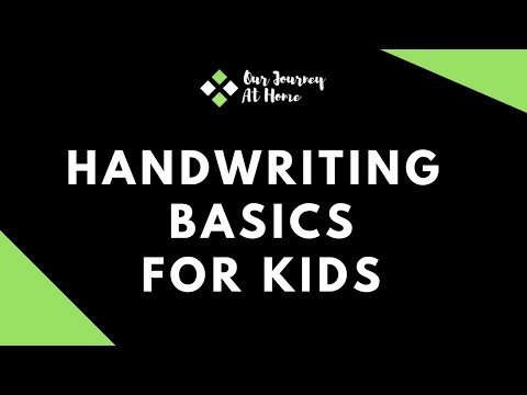 Handwriting Course For Kids | Drill Work |